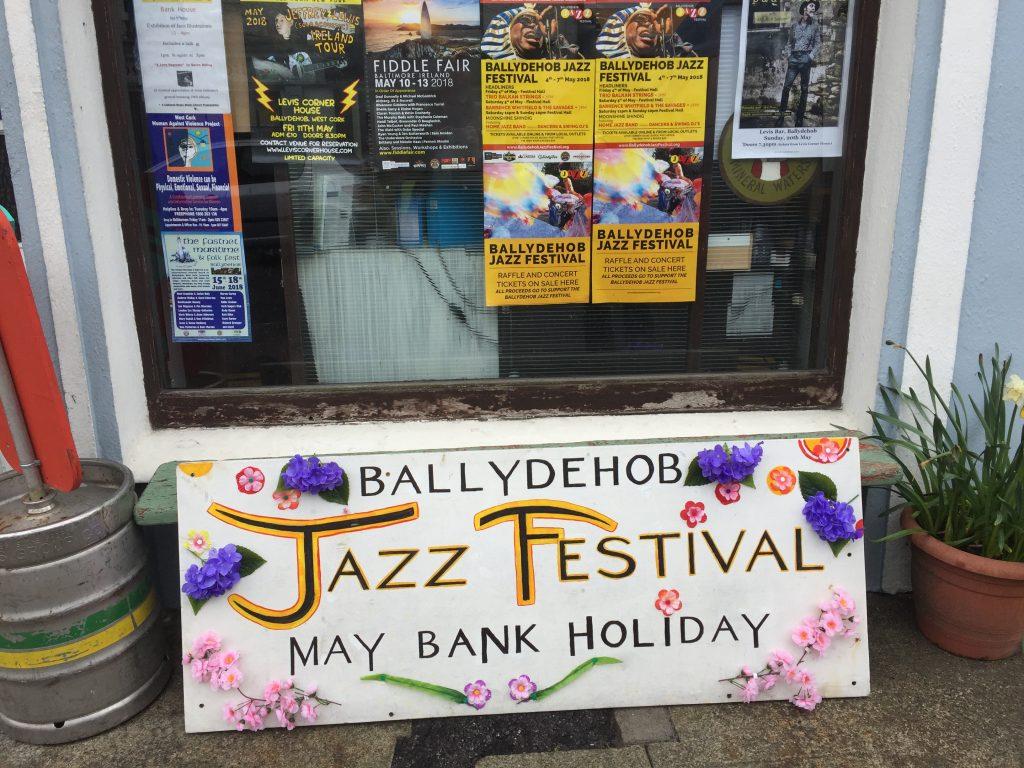 pancarte festival de jazz de ballydehob