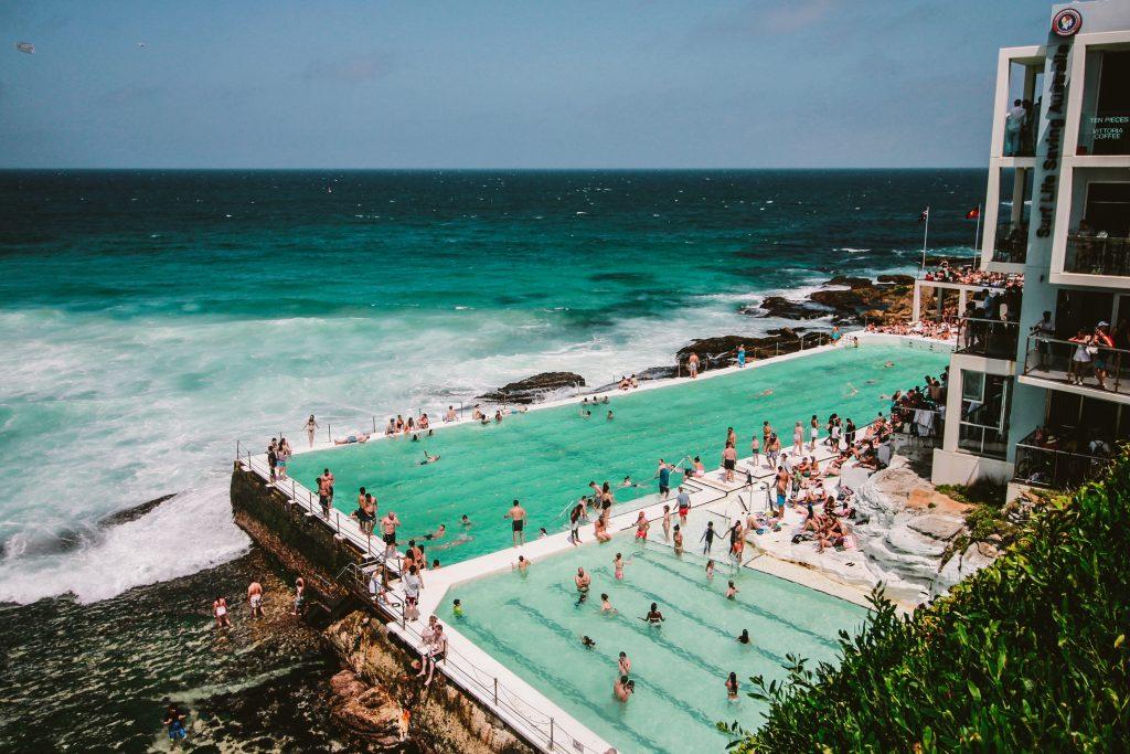 piscine sur mer en australie